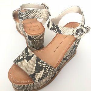 8b543ce4da8 Dolce Vita Shoes - Dolce Vita Datiah Multi Faux Snake Skin Wedges